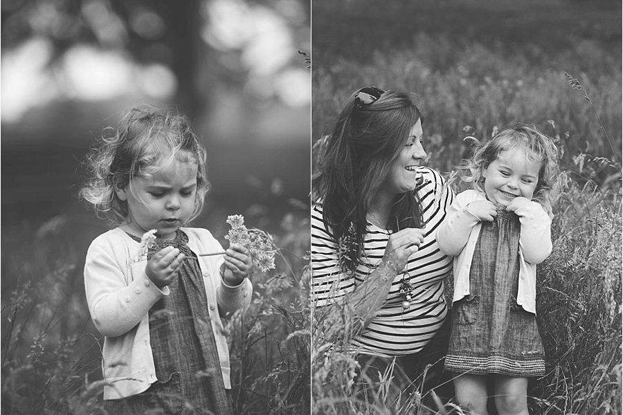 Outdoor family session in Cotham, Bristol